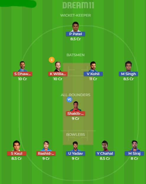 rcb vs srh rdeam11
