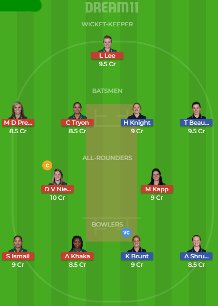 en vs sa dream11