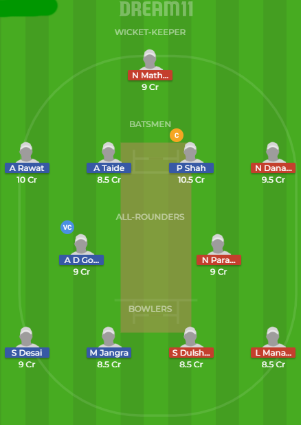 in y v sl y dream11