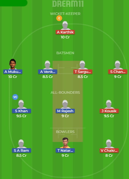 LYC VS MAD Dream11