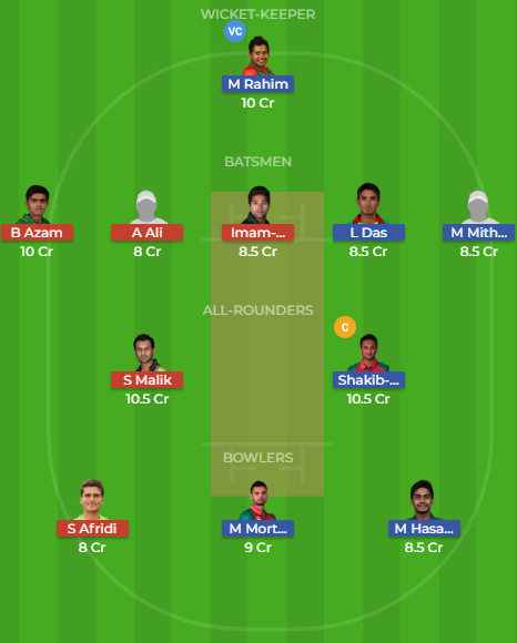 ban vs pak dream11