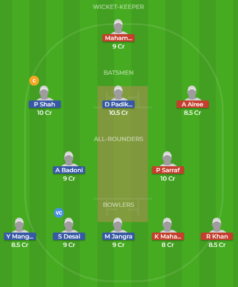 IN-Y vs NP-Y dream11