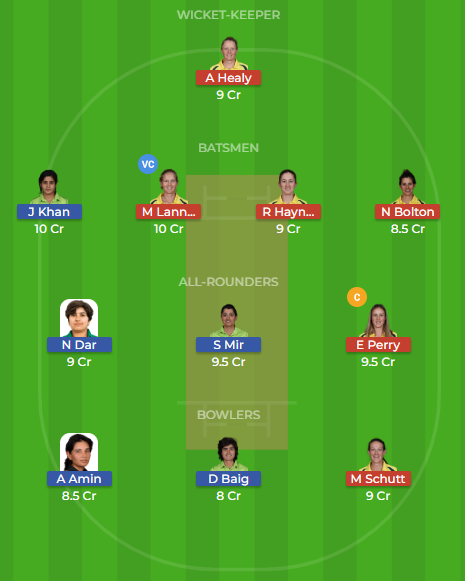 au-w vs pk-w dream11