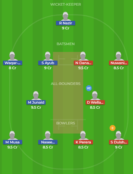sl-y vs pk-y dream11