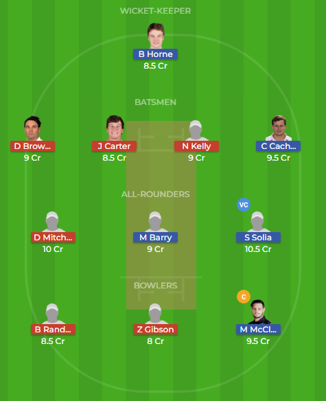 auk vs nk dream11