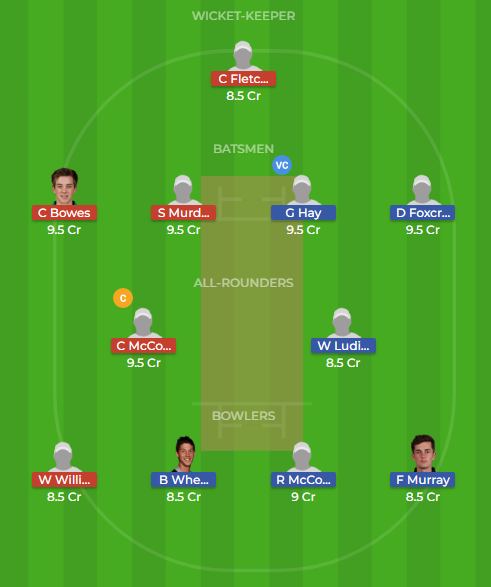 cd vs ctb dream11