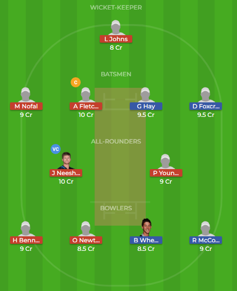 cd vs wel t20 match2 dream11