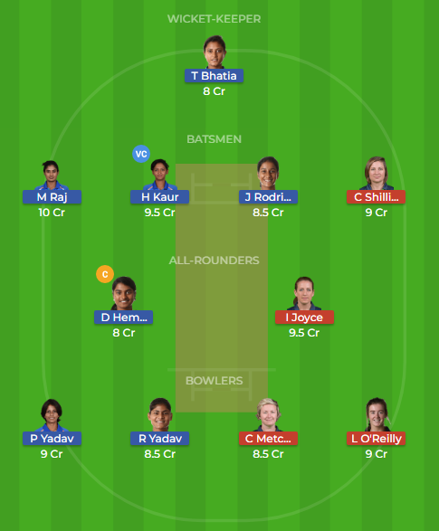 in w vs ir w dream11