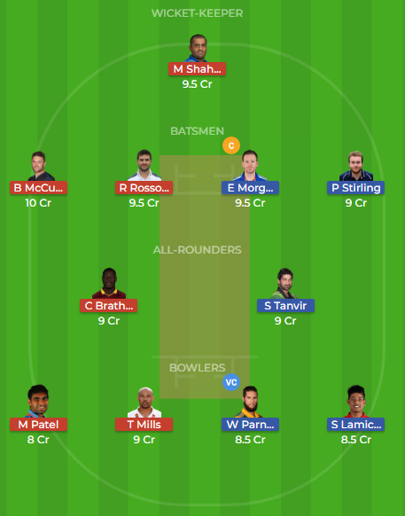 ker vs raj dream11