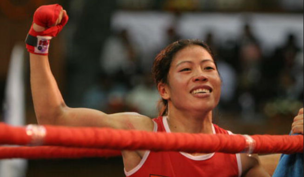 mary kom in world boxing championship