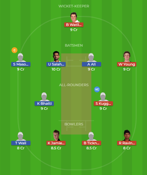 pak a vs nz a dream11