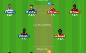 raj vs nor dream11