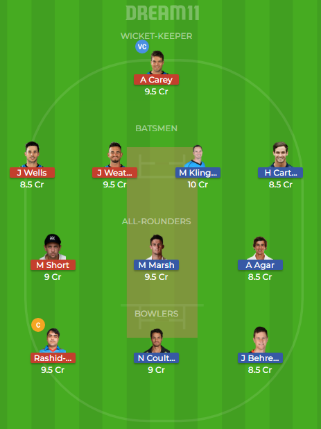 PS VS ADS Dream11
