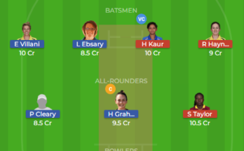Ps w vs st w dream11