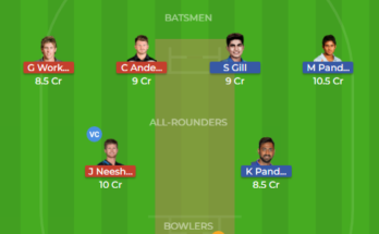 in a vs nz a dream11 team