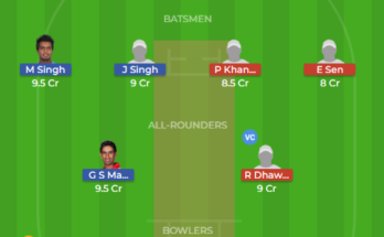 pun vs him dream11