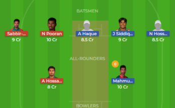 kt vs sys dream11