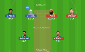 pak vs sa test 3 dream11