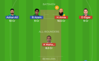 sa vs pak dream11