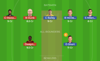 hbh vs mls dream11 1st semi final