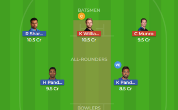 ind vs nz dream11