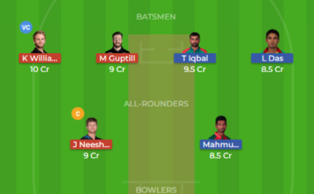 nz vs ban dream11
