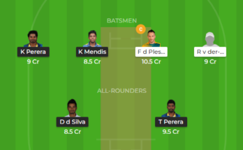 sa vs sl 2nd odi dream11
