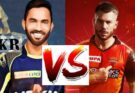 KKR VS SRH Today Dream11