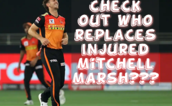 Mitchell marsh ruled out of IPL2020