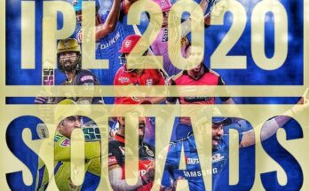 IPL Teams 2020 Players List